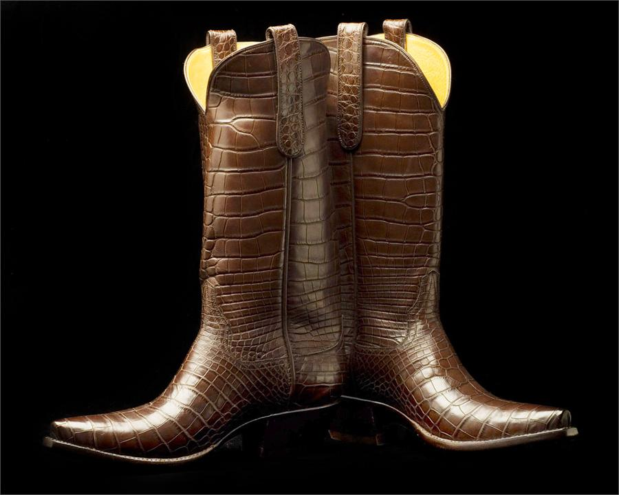 b66ef52ff33 FULL ALLIGATOR BOOTS # NHR-76